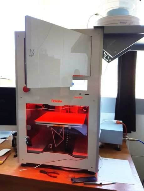 our new 3D printer